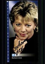 Barbara Liese HR Autogrammkarte Original Signiert ## BC 24384