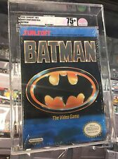 1990 BATMAN NEW FACTORY SEALED NINTENDO NES SNES N64 SEGA PS1 PS2  VGA 75+ RARE!