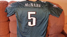 PHILADELPHIA EAGLES DONOVAN MCNABB  FOOTBALL JERSEY SIZE L 14-16  YOUTH
