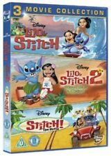 Lilo and Stitch/Lilo and Stitch 2/Stitch! The Movie - DVD Region 2