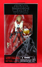 "X-Wing Pilot Asty Star Wars the Black Series 6"" Action Figure Hasbro Toy New"