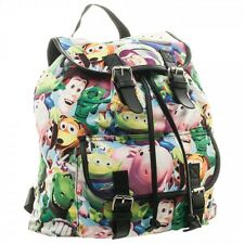 Disney Toy Story Sublimated Slouch Knapsack Backpack NEW! Buzz, Woody LICENSED!