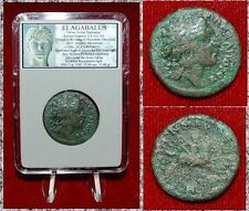 Ancient Roman Empire Coin Of Elagabalus Commemorative Alexander The Great Issue!
