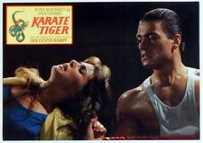 Van Damme  KARATE TIGER original Kino Aushangfoto 1987
