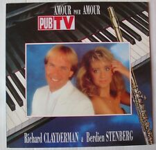 RICHARD CLAYDERMAN & BERDIEN STENBERG   (LP 33 Tours)  AMOUR POUR AMOUR