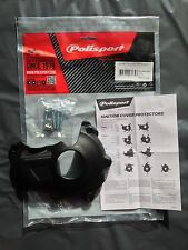 YAMAHA YZF 450  2014-2017 IGNITION COVER PROTECTOR GUARD BLACK