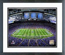 """Detroit Lions Ford Field NFL Photo RK133 (Size: 12.5"""" x 15.5"""") Framed"""