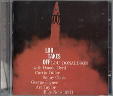 LOU DONALDSON- Lou Takes Off CD (2008 RVG Edition) Donald Byrd/Curtis Fuller 57