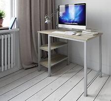 MODERN COMPUTER DESK PC TABLE SHELF UNIT WORKSTATION HOME OFFICE FURNITURE