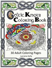 Deluxe Edition Celtic Knots Adult Coloring Book 30 Pages Mandala Lozs Art