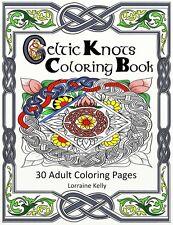 Celtic Knots Adult Coloring Book 30 Pages Mandala Lozs Art Thick Pages