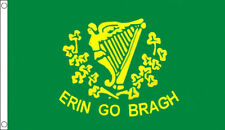 ERIN GO BRAGH FLAG 5' x 3' Republic of Ireland For Ever Irish Eire Celtic