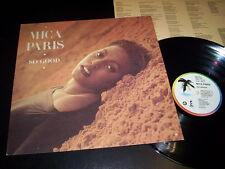 """Mica Paris """"So Good"""" LP 4th & Broadway ITA 1989 - INNER"""