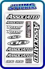 TEAM ASSOCIATED RC STICKERS DECAL 1/10 1/8 TC7 CAR BUGGY OFF ROAD NATURAL R/C