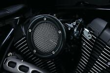 Kuryakyn - 9875 - Velociraptor Air Cleaner for Custom Applications, Black