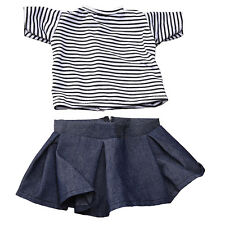 New Summer Clothing Dress Set Outfits Clothes For 18inch Girl Doll Toy Accessory