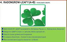 RADONGROW-LEAFY (500) for 250 Litre hydroponic nutrient