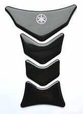 Yamaha YZF YZF-R1 R6 FZ1 FZ8 FZ6 Glossy Black tank pad Protector Sticker trim