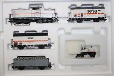 """Märklin 28462 Zug-Set Bauzug """"Sersa"""" Diesellok Baureihe V100 Delta Spur H0 OVP"""