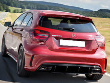 GENUINE A45 AMG Rear Diffuser Sport Edition Mercedes W176 A Class FACELIFT