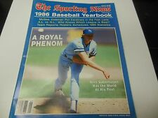 1986 COMPLETE MLB BASEBALL YEARBOOK GUIDE GOOD CONDITION THE SPORTING NEWS RARE