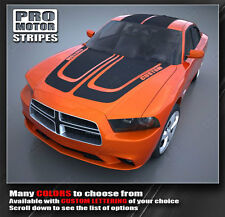 Dodge Charger Complete Racing Stripe Kit Hood Roof and Trunk 2011 2012 2013 Pro