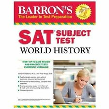 NEW - Barron's SAT Subject Test World History, 5th Edition
