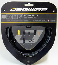 Jagwire Road Elite Link Teflon Coated Brake Cable Kit  Sram/Shimano/Campy Black