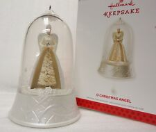 2013 HALLMARK O Christmas Angel Magic Light Sound Motion Ornament NEW in Box