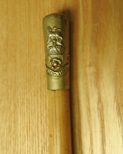 Military WW1 Loyal North Lancashire Swagger Stick Officers Cane (4188)