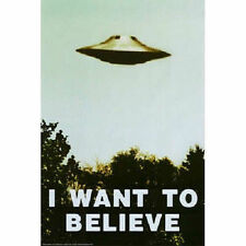 X Files Poster I want To Believe