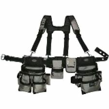 Construction Tool Belt Pouch Suspenders Carpenter Vest Electrician 55135