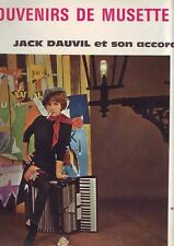 33 tours jack dauvil accordeon musette -