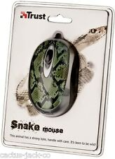 NEW UNIQUE TRUST 16966 WILDLIFE SNAKE OPTICAL USB MINI MOUSE SALE
