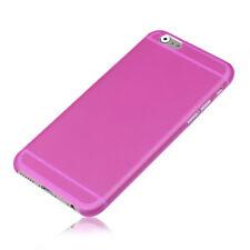 IPhone 6 Caja Del Teléfono Móvil Rosa ROJO y protector de pantalla