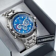 Globenfeld Super Sport Orologio Sportivo + GARANZIA DI 5 anni + scatola di presentazione-SRP £ 525