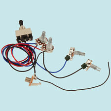 New Guitar Wiring Harness Kit 2V2T 3 Way Toggle Switch for Gibson Les Paul GOOD