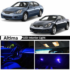 16x Blue LED Lights Interior Package Kit for 2007-2012 Altima Sedan Coupe + TOOL