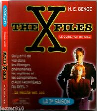 THE X-FILES ¤ LA 3°SAISON ¤ LE GUIDE NON OFFICIEL ¤ 1997 hors-collection
