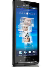 NEW InBox Sony Ericsson Xperia X10a - 1GB - Sensuous black (AT&T Only) locked.