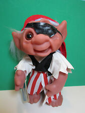 """1977  PATCH THE PIRATE  - 9"""" Dam Norfin Troll Doll -  THE DAYS OF YORE SERIES"""