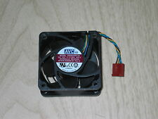 Lot 4 HP Elite 8200 8300 Ultra Slim Desktop DS06025R12U 60x25mm Rear Case Fan