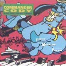 TOO MUCH FUN: BEST OF COMMANDER CODY NEW CD