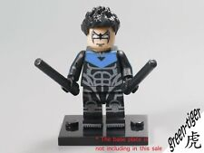 B605 NightWing Blue oultfit Custom Minifigure Super Heros Lego Batman series