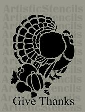 STENCIL Thanksgiving Turkey  10x7