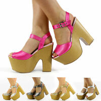 NEW WOMENS SHIMMER GLITTER TEXTILE HIGH HEEL CUT WEDGE PLATFORM STRAP OPEN TOE
