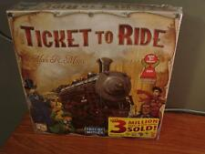 Ticket To Ride Days Of Wonder Game Alan R. Moon SEALED German Game of The Year