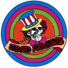 Grateful Dead - Uncle Sam Bertha Cling-On Decal