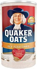 Quaker Oats Oatmeal, Old Fashioned, 42 oz
