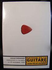 Autour de la Guitare par Jean-Felix Lalanne (DVD) REGION 2 PAL See Description